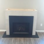 A new fireplace build and install for a WNY Home